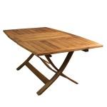 """table d'éxtèrieur """"romana"""" en bois recyclé"""