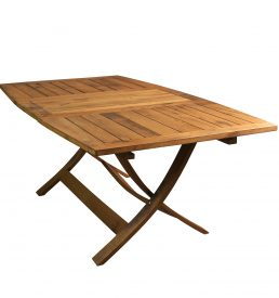 """Romana"" Garden table made with recycled wood."
