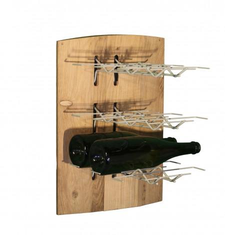Habillage rangement bouteilles – système Visiorack
