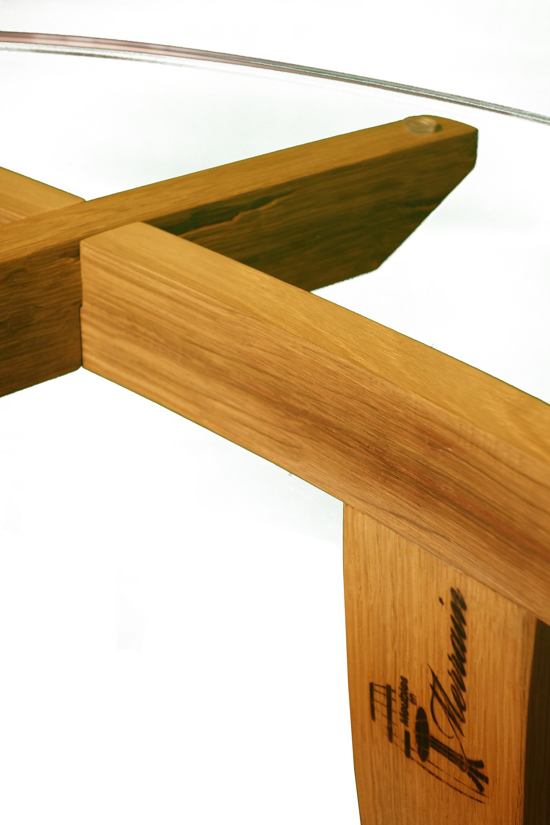 Table basse en bois recycl carr devin - Table basse carre bois ...