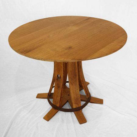 Table repas en bois recyclé  «Maitre de chai «