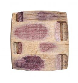 plateau en bois recyclé