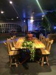 """Location table """"romana"""" et chaises """"tastevin"""" pour porsche monaco"""