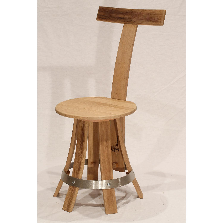 Chaises de table en bois recyclé