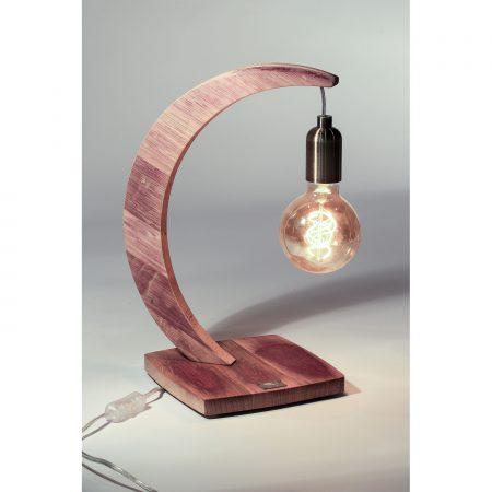 lampe brin de chene socle carré ver2