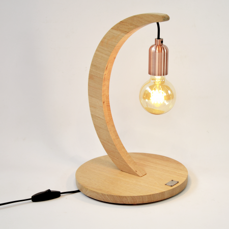 lampe à poser «brin de chêne» couleur naturelle